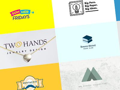Jake Cooper Design - Logos / Logofolio 2017 grid logofolio art direction graphic design brand branding logos logo