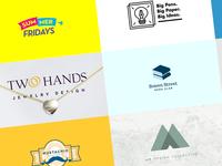 Jake Cooper Design - Logos / Logofolio 2017
