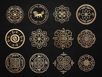 Tibetan Bowl Designs