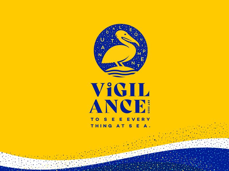Vigilance Nautical Equipment bird pelican vigilance nautical sea