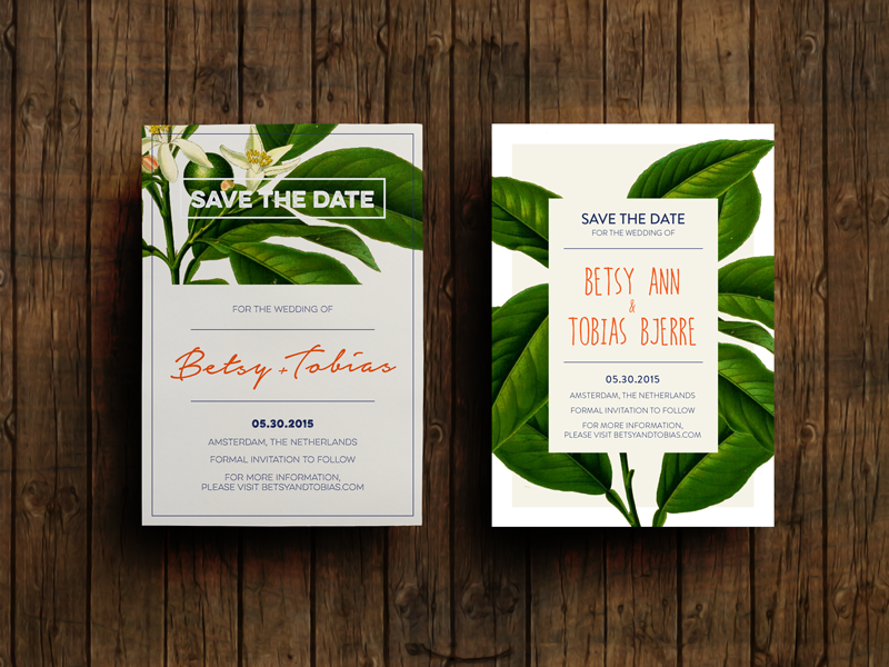 Save the Date mockups save the date wedding invitation floral layout print handwritten design
