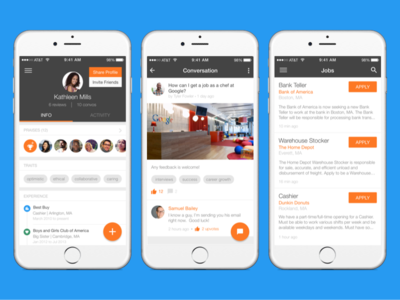 Jobcase for iOS