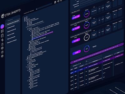 UI/UX | Electricity accounting icon flat electricity uiux dark theme webdesign design ui design ux ui