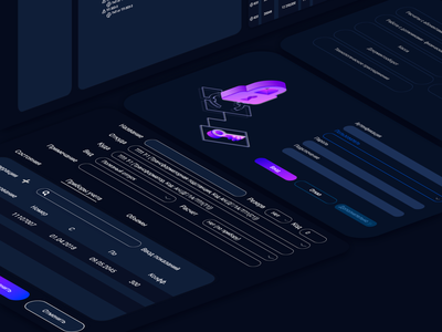 UI/UX | Electricity accounting ui  ux design uiux icon illustration dark blue flat webdesign ui ux uidesign electricity dark theme ux ui design