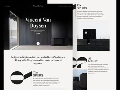 Vincent Van Duysen brutalism minimalism architecture editorial design editorial