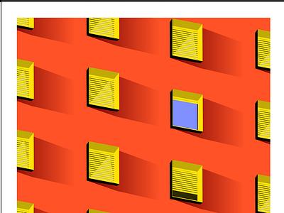 Architecture is a visual art building illustrator illistration window pattern architechture