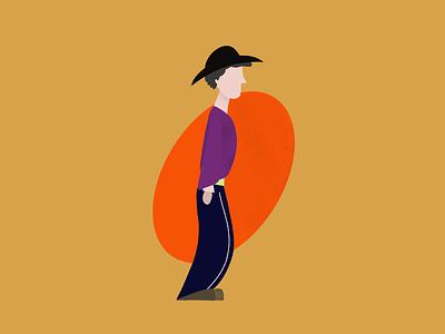 Mr Hi in person design character illustration