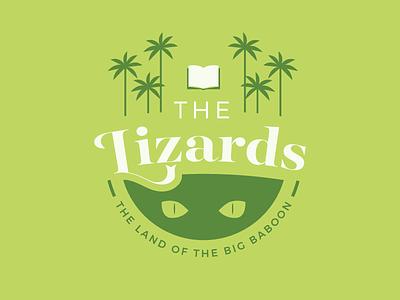 The Lizards illustration lizard green badge gamehendge phish