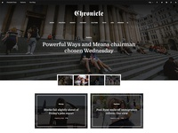 Chronicle - Premium News and Magazine PSD Template