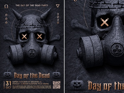 Day of the Dead flyer invitation trick or treat template spooky skull flyer skull scary horror happy halloween halloween poster halloween party halloween invitation halloween flyer halloween day of the dead creepy black