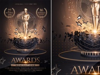 Golden Awards Flyer Template