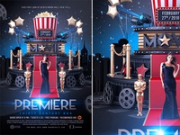 Premiere Movie Flyer