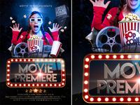 Movie Premiere & Movie Star Flyer