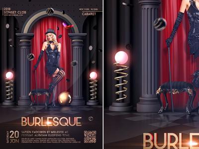 Burlesque & Cabaret Poster