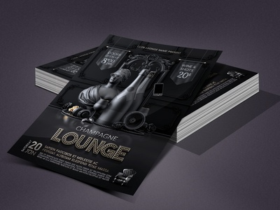 Champagne Vip Lounge Flyer luxury anniversary drinks party drinks night drinks club flyer club champagne party champagne lounge champagne nightclub template party flyer