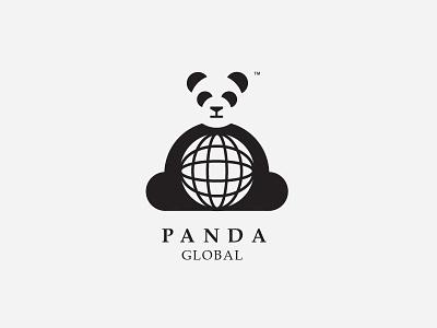Panda Global - Updated panda day3 bamboo pandaglobal ux ui illustration logo dailylogochallenge