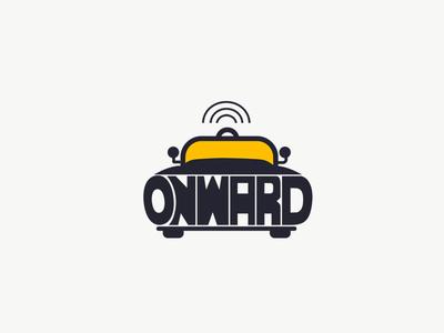 Daily Logo 5/50 - Driverless Car - ONWARD