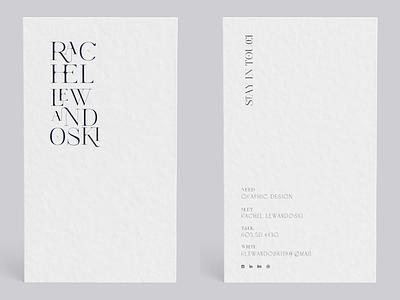 HMU⎯ print design minimalist graphic design business card branding business card design