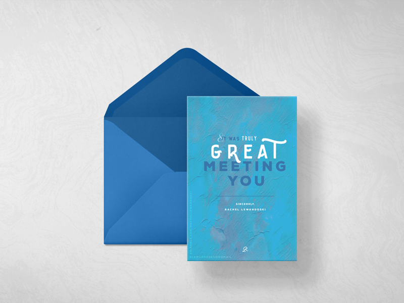T.Y CARD | BACK print design collateral design nautical thank you card design thank you card