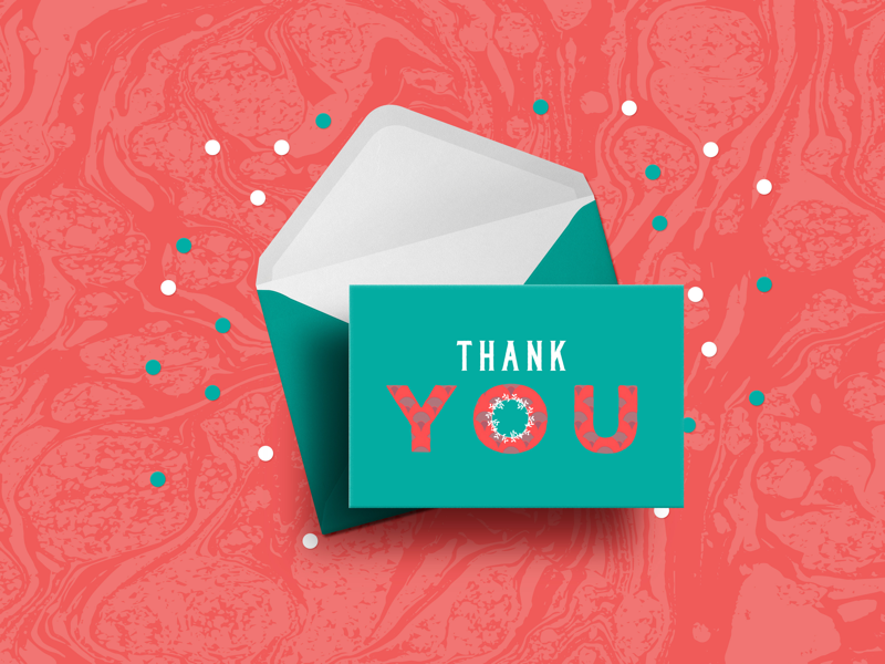 T.Y CARD II mockup thank you card thank you card design print design