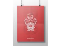 MERMAID PRINT | red