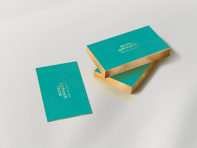 GOLD EDGED B. CARDS | i print design texturized embossed gold edged branding business card design business cards