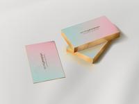 GOLD EDGED B.CARDS | ii