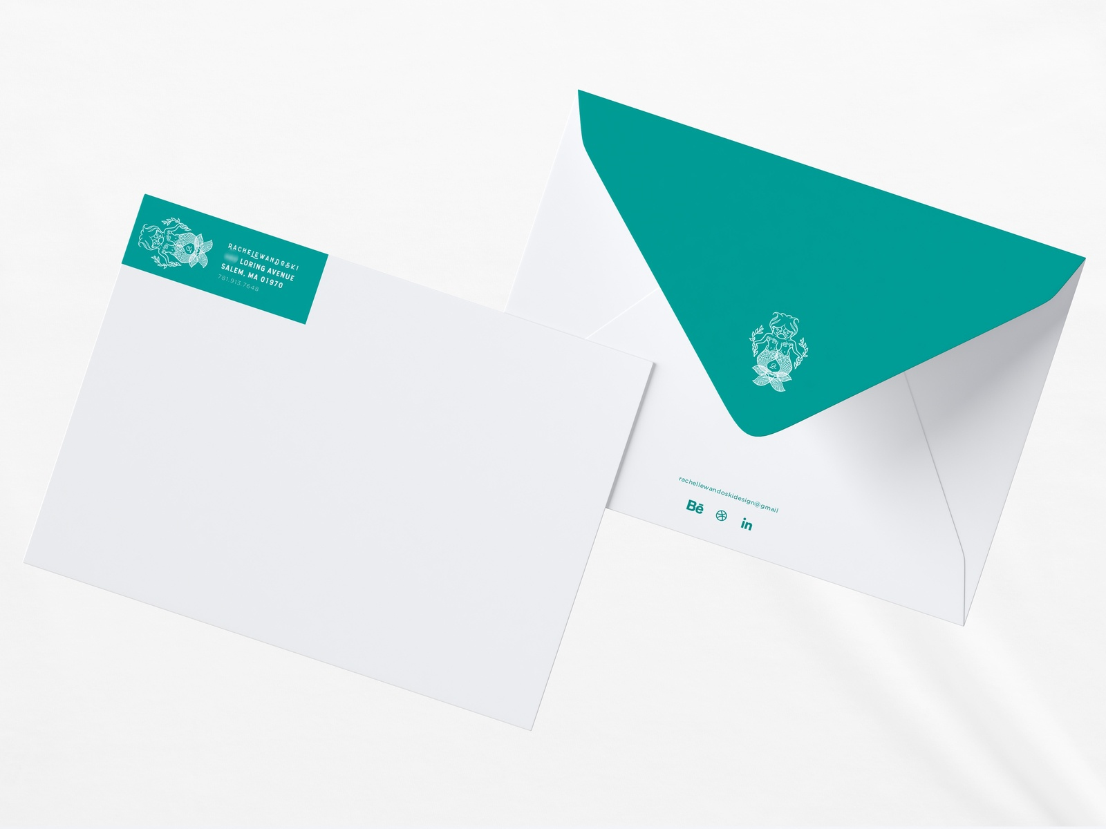 rl label envelope 1 5 by rachel lewandoski dribbble dribbble