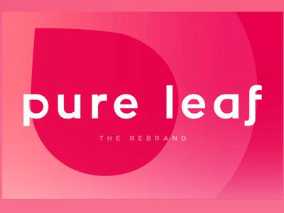 Pure Leaf Rebrand senior thesis packaging product design logo design graphic design rebrand
