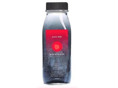 Pure Leaf Rebrand | Energizing Tea weekender product design bottle design tea senior thesis pure leaf rebrand