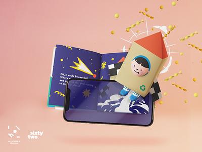 Storybook AR homeschool learning storybook children kids augmentedreality