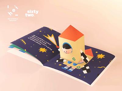 Storybook AR learn childrens book kids children storybook augmentedreality homeschool