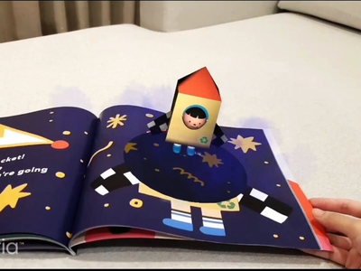 Storybook AR learn homeschool children kids childrens book storybook augmentedreality