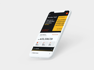 Online Banking Membership Experience mobile app finance banking membership branding design app ux ui