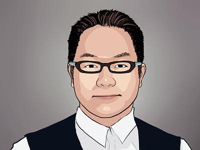 Commissioned Portrait portrait illustration portrait art illustration