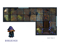 12 Realms: Dungeonland Map Tile 9