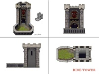 12 Realms: Dungeonland Dice Tower