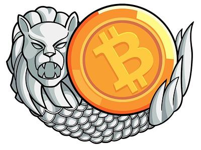 Singapore Bitcoin-only Meetup icon logo vector singapore bitcoin