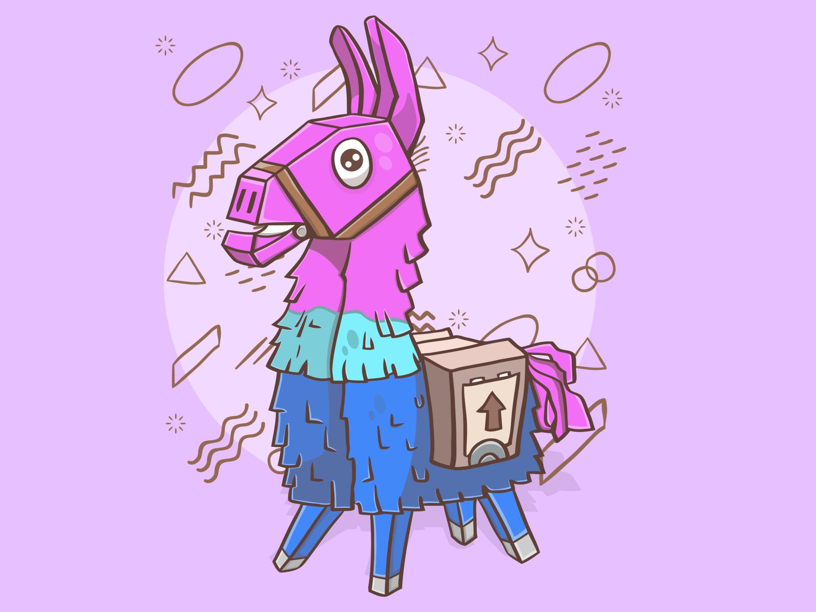 Llama Fortnite! 🦙🔫 by Çlirim Gashi on