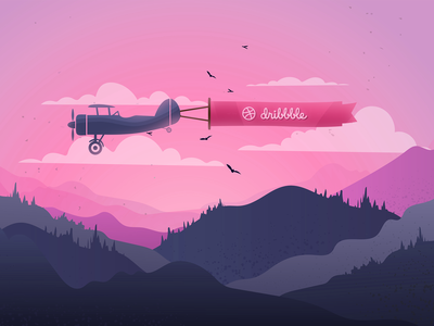 Travel with Dribbble! ✈️