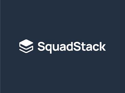 Logo Design - SquadStack data driven graphic design brand identity parent brand logo design vector logo branding illustrator design