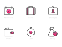 Icon Set - HR Application