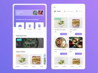 Meals ordering apps design