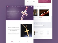 Holy Jewelry Site Design