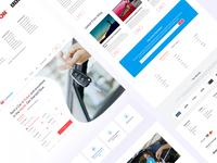 Final Rental - Landing Page Design