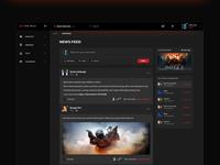 Newsfeed Screen Design