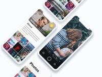 Camera App Screens UI