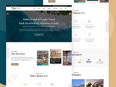 Tour Destinations :: Landing Page Design design web webdesign ux ui