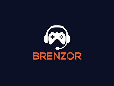 Brenzor Logo Design branding flat minimal design illustration ui ux app logo vector