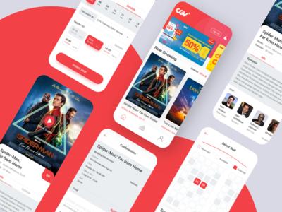 Movie tickets apps